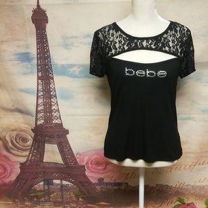 🆕️ Bebe bling logo sexy top